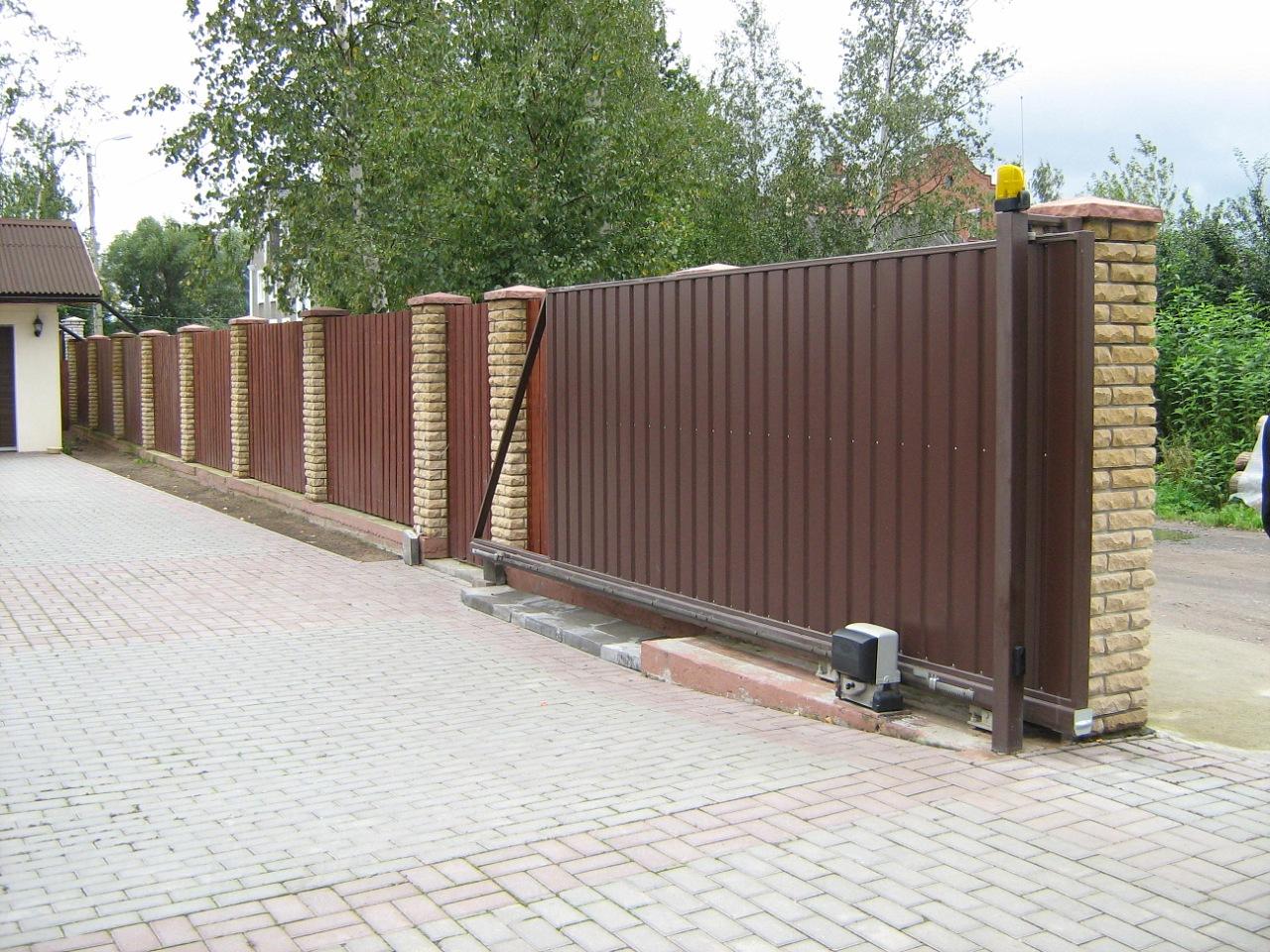 Автоматические ворота отказные как сварить ворота самому дома